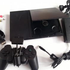 PlayStation 2 Slim cu maneta alimentator cablu tv consola joc Sony PS2