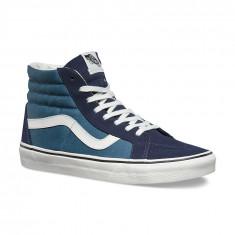 Shoes Vans SK8-Hi Reissue 2 Tone Parisian Night/Blue Mirage, Marime: 40, 41, 42, 44, 45