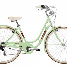 Bicicleta Oras Pentru Femei, Adriatica, Danish, Cadru 480 mm 6 Viteze, Verde, 2016 Adriatica - Bicicleta pliabile