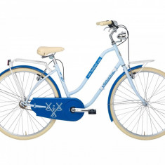 Bicicleta Oras Pentru Femei, Adriatica, Holland Lady, Albastru, Cadru 450 mm, 2016 Adriatica - Bicicleta pliabile