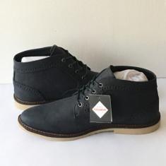 Ghete / Bascheti / Adidasi Pull & Bear bleomarin ORIGINALI Stoc Limitat - Ghete barbati, Marime: 40, 41, 42, 43, 44, Culoare: Albastru