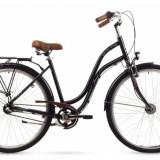 Bicicleta Femei, Romet, Pop Art, 28 2016, Negru, 28x1.75 inch Romet - Bicicleta pliabile