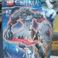 Lego Chima Robot Original 70204 - Chi Worriz - Nou, Sigilat - LEGO Legends of Chima
