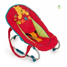 Sezlong Rocky Disney Pooh Red Hauck - Balansoar interior Hauck, Roz