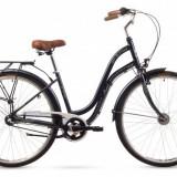 Bicicleta Femei, Romet, Pop Art, 26 2016, Argintiu, 26×1.75 Romet - Bicicleta pliabile