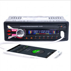 Radio MP3 Bluetooth fata detasabila + hands free, microfon incorporat, USB, SD - CD Player MP3 auto