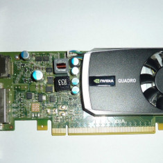 Placa Video PNY Nvidia Quadro 600 1 GB DDR3 profesionala - Placa video PC PNY, PCI Express