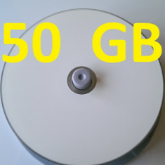 RIDATA 6X Blank Blu-Ray BD-R DL Dual Double Layer 50GB White Inkjet