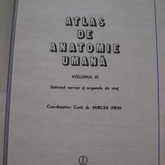 ATLAS DE ANATOMIE UMANA MIRCEA IFRIM VOL, 3