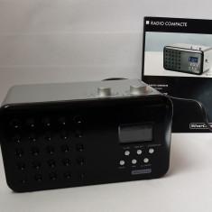 Radio FM cu ceas si afisaj LED SILVERCREST - Aparat radio, Digital, 0-40 W