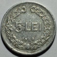 5 Lei 1949 Al Romania - Moneda Romania, Aluminiu