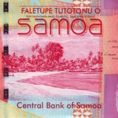 Samoa de Vest 5 Tala - (nedatata; circa 2008) P-38 UNC !!!
