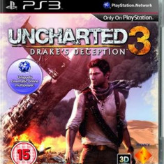 Uncharted 3 Drake's Deception Ps3 - DVD Playere Sony