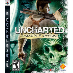 Joc consola Sony Uncharted Drake's Fortune PS3