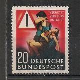 Germania.1953 Prevenirea accidentelor rutiere SG.248 - Timbre straine, Nestampilat