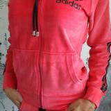 Trening Sport Adidas Roz Catifea - Trening dama Adidas, Marime: S, M, L, XL, XXL, Culoare: Din imagine