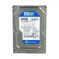 Hard Disk Western Digital 320GB WD3200AAJS, SATA II, 8MB, 100%OK, cablu+ garantie+factura!!!, 200-499 GB, Rotatii: 7200, SATA2