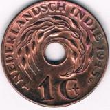 Moneda 1 cent 1945 - Indiile Olandeze, XF, Africa