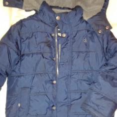Geaca de iarna ptr copii, Calvin Klein, masura 5/6 ani, Marime: XL, Culoare: Bleumarin, Baieti