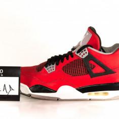 Jordan 4 Toro Bravo - Adidasi barbati Jordan, Marime: 44, Culoare: Rosu