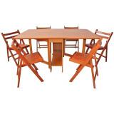 Set masa plianta de 8 persoane