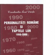 Constantin Toni-Dartu - Personalitati romane si faptele lor (Vol. X) dedicatie - Carte Cultura generala Altele