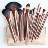 Pensule make-up par natural - 18 bucati