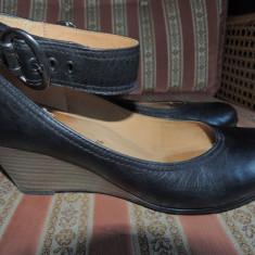 Pantofi dama GABOR, mas. 38, 5-39 - Pantof dama Gabor, Marime: Alta, Culoare: Negru, Piele naturala