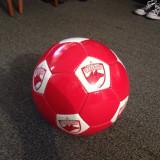 Minge fotbal oficiala fc dinamo bucuresti oficiala noua marimea 5 alb rosie