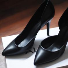 Pantofi negri ALDO-marimea 38 - Pantof dama Aldo, Culoare: Negru