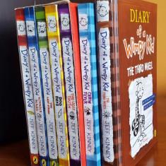 Diary of a Wimpy Kid Pachet Colectie 7 carti, Jurnalul unui Pusti - Carte Literatura Engleza