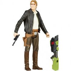 Figurina Star Wars The Force Awakens - Han Solo - Figurina Povesti Hasbro