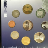 Set BNR MONEDE 1880-2000 - Moneda Romania