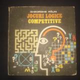 GHEORGHE PAUN - JOCURI LOGICE COMPETITIVE - Carte educativa