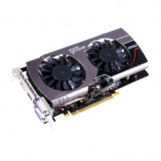 Placa video gaming MSI GeForce GTX 660 OC TwinFrozr III 2GB DDR5 192-bit HDMI - Placa video PC Msi, PCI Express, nVidia