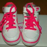 Ghete sport fetite - Nike - Adidasi copii Nike, Marime: 27, Culoare: Alb