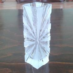 Vaza cristal masiv - Vaza sticla