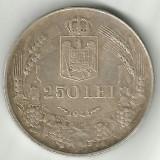 ROMANIA 250 LEI 1939 STARE XF - Moneda Romania