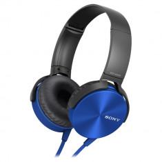 Casti cu microfon Sony Extra Bass XB450AP Albastru