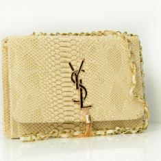 Geanta / Poseta de umar sau mana Yves Saint Lauren YSL + Cadou Surpriza - Geanta Dama Yves Saint Laurent, Culoare: Din imagine, Marime: Medie, Geanta de umar, Asemanator piele