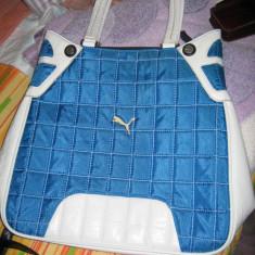 Geanta sport Puma - Geanta Dama Puma, Culoare: Albastru, Marime: Medie