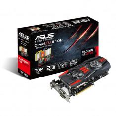 Placa video ASUS AMD R9270X-DC2T-2GD5, R9 270X, PCI-E, 2048MB GDDR5, 256 bit, GPU Boost Clock : 1120 MHz, 5600 MHz, 2*DVI, HDMI, DP, OC, bulk - Placa video PC Asus, PCI Express, 2 GB, Ati