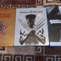 Wolverine 3D, Last Stand, Fast 7- 3 filme steelbook bluray originale cu romana - Film actiune Odeon